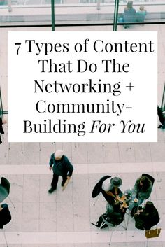 7 Types of Content T