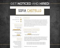 Resume Template  Cv Template Instant Download  by SuccessTools