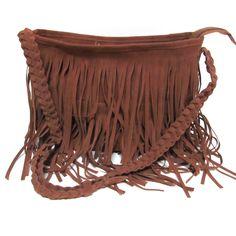 Fashion Tassel Celebrity Shoulder Messenger Tote Handbag
