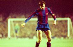 Johann Cruyff, au Barça de 1973 à 1978
