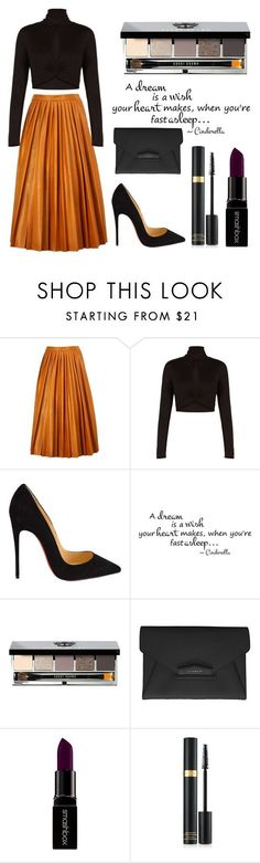 """Untitled #94"" by rodoulla97 on Polyvore featuring By Malene Birger, BCBGMAXAZRIA, Christian Louboutin, Bobbi Brown Cosmetics, Givenchy, Smashbox, women's clothing, women's fashion, women and female"