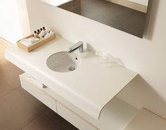 Duravit sink with covering platform