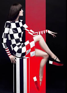 High Contrast – Chris Nicholls uses black, white, and red for a contrasting effect in his latest spread for Canada's Fashion Magazine. The fashion photographer snapped local model Samantha Rayner in bold monochromatic and red ensembles selected by stylist Zeina Esmail. Hair and makeup artist Greg Wencel added an extra punch with a retro chic... [Read More]