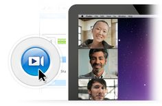 REMOTE INTERVIEW TOOL + SCREEN SHARING >> Easy Web Conferencing & Online Meeting Tools | GoToMeeting™   GoToMeeting is the extremely simple, extraordinarily powerful way to hold unlimited online meetings with up to 25 attendees. Start a meeting and share your screen with just a click.      Collaborate face to face with HDFaces video conferencing.     Save with integrated audio conferencing (via VoIP and telephone).     Attendees can join from a Mac, PC, iPad, iPhone or Android device.