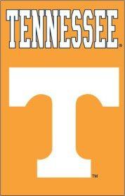 Tennessee Volunteers 28x44 Applique Banner Flag (backorder)