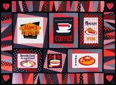 Mom's Diner Quilt Pattern