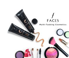 """#aplavabrands- If you have a flair for cosmetics & make up, we introduce the Brand """"FACES""""-The Canadian heritage brand spanning over 39 years, with an extensive makeup product line for Eyes, Face, Lips and Nails, Skincare and Lifestyle Accessories! FACES products are hypoallergenic and conform to the most stringent quality and safety requirements. Offering you an unparalleled variety, they are designed to suit every ethnicity, skin type and tone, complexion and texture!!! Buy Online Now"""