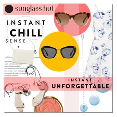 """""""Shades of You: Sunglass Hut Contest Entry"""" by aly2628 ❤ liked on Polyvore featuring Milani, 3.1 Phillip Lim, Topshop, Lipsy, Michael Kors, Miu Miu, Nine West, contestentry, sunglasshut and instantchill"""