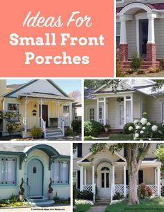 Dont Fret Over Having A Small Porch My Goodness There Are So