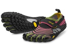 Vibram FiveFingers - SPYRIDON   -  Much like the Spyridon LS, the Spyridon allows you the freedom to run anywhere, offering both the joy of the barefoot experience and the defense from rugged landscapes that might normally deter you.