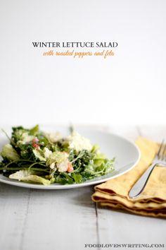 WINTER LETTUCE SALAD / foodloveswriting.com