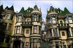 Victorian Buildings, San Francisco