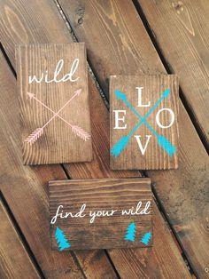 Pallet Sign | Reclaimed Wood | DIY | Pallet Art | Rustic Sign | Rustic Home…