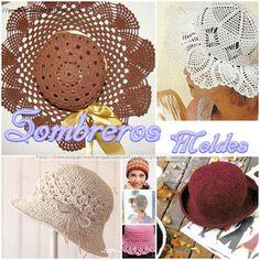 Ideas para el hogar: Gorros y capelinas en crochet