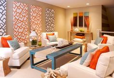 I have a similar color scheme in my living area right now.  Using this for further inspiration!