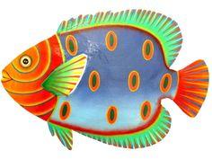 .....................................................................: Peixinhos Metal Fish, Wood Fish, Colorful Fish, Tropical Fish, Pebble Painting, Fabric Painting, Cartoon Fish, Fish Drawings, Art Folder