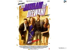 see our website link::  http://www.ticketnew.com/OnlineTheatre/online-movie-ticket-booking/Bhilai/Yeh-Jawaani-Hai-Deewani-Hindi.html  Yeh Jawaani Hai Deewani is an upcoming 2013 Bollywood Romantic film, directed by Ayan Mukerji and produced by Karan Johar. The film stars Ranbir Kapoor and Deepika Padukone in lead roles.  Aditya Roy Kapur and Kalki Koechlin will play supporting roles. Initially slated for a March 2013 release, the film will now be released on 2013.