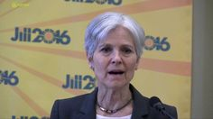 Green Party Presidential Candidate Jill Stein Minneapolis News Conferenc...