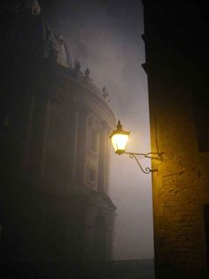 Radcliffe Camera in the fog.