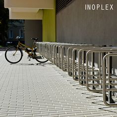 The ST.12.12 bicycle rack is a wall mount model. The stand was made entirely of damage-resistant stainless steel. / Stojak rowerowy ST.12.12 to model przeznaczony do montażu na ścianie. Stojak został wykonany w całości z odpornej na uszkodzenia wywołane eksploatacją stali nierdzewnej. Bicycle Rack, Stairs, Vogue, Fit, Model, Home Decor, Stairway, Staircases