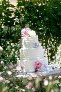 Julie's jello wedding cake from Frosted bakery found at recipesthatremember.com