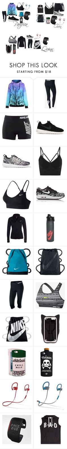 """Concert"" by teylorann ❤ liked on Polyvore featuring NIKE, STELLA McCARTNEY, ban.do, Valfré, Beats by Dr. Dre, adidas and Zoe Karssen"