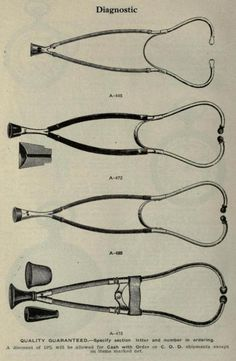 Stethoscopes.