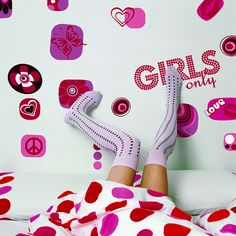 Euro Freestyle Girl's Only Wall Decal