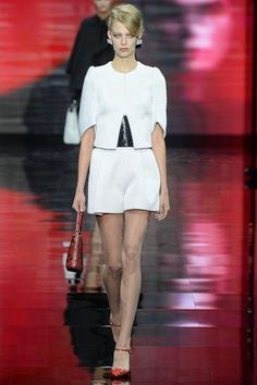 Armani Privi Fall 2014 - still love - Whites and Skirts