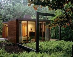 ⌂ The Container Home ⌂ Dutchess County Guest House : By Allied Works Architecture ~ HouseVariety