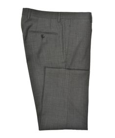 Grey Hopsack Trousers