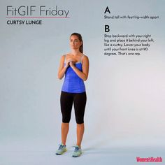 This One Move'll Help You Get Sexy Thighs AND a Better Butt  http://www.womenshealthmag.com/fitness/fitgif-friday-curtsy-lunge?utm_campaign=SoThisHappened