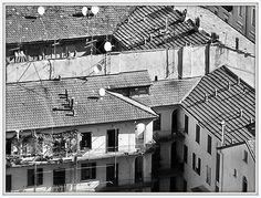 Milano Isola - Vecchie case di ringhiera in via Pietro Borsieri 7