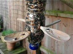 Creative id3as for bird feeders