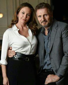Diane Lane and Liam Neeson Beautiful Old Woman, Beautiful People, Alyssa Milano Baby, Diane Lane Actress, Divas, Singer Fashion, Liam Neeson, Tamar Braxton, Female Soldier