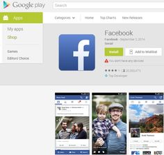 Facebook Hits 1 Billion Downloads in Google Play Store