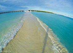 Beach walkway, Maldives