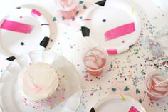 Confetti + Cake Party You don't have to spend an arm and a leg to host a great party on the fly! A few easy tricks and you'll be ready for your next event! Jun 01, 2017