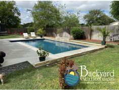 The Key to Pool Satisfaction: A great pool! Pool Ideas, Backyard Ideas, Leisure Pools, Pool Contractors, Fiberglass Pools, Backyard Paradise, In Ground Pools, Pool Designs, San Antonio