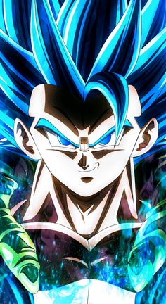 The world of Dragon Ball is indeed filled with a variety of very powerful heroes, and Goku has long been considered the strongest hero in Universe . Photo Dragon, Dragon Z, Blue Dragon, Gogeta And Vegito, Dragon Ball Image, Animes Wallpapers, Z Arts, Otaku, Dbz Vegeta