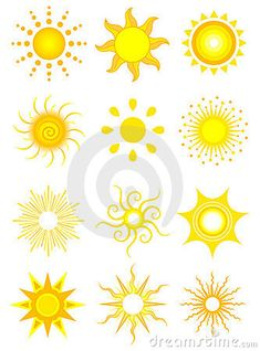 Illustration about 12 vector icons of the sun in various designs. Illustration of sunray, orange, sunshine - 2632409 Sun Tattoos, Tattoos Skull, Tribal Tattoos, Body Art Tattoos, Small Tattoos, Tatoos, Celtic Tattoos, Sleeve Tattoos, Sun Tattoo Designs