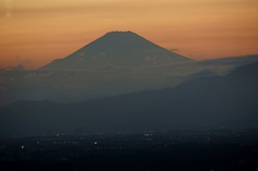 Mt.Fuji from Yokohama Landmark Tower by nobuflickr, via Flickr