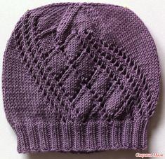 Всем привет. Связалась у меня ещё одна шапочка. Вяжется очень легко. Для всех желающих прилагаю схему и краткое описание. Knitted Hats, Crochet Hats, Fedora Hat Women, Winter Chic, Winter Hats For Women, Winter Outfits, Scarves, Knitting, Fashion