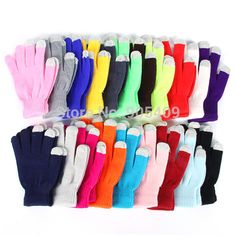 >> Click to Buy << Winter Vogue Knitted Full Finger Gloves Mittens For Smart Phone Screen #Affiliate