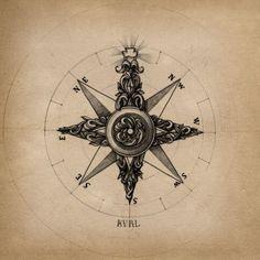 I like the idea of a compass rose