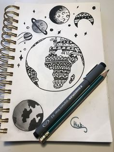 Images of galaxy drawing doodles - Galaxy Drawings, Space Drawings, Tumblr Drawings, Easy Drawings, Pencil Drawings, Mandala Art, Mandala Drawing, Dibujos Zentangle Art, Hand Sketch