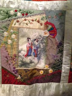Block 7 Asian Riches Design by Gloria Mckinnon ....made by Avis Withers