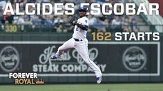 Alcides Escobar was one of two Major Leaguers to start all 162 games in 2016 (J. Schoop). - Esky is the only Royal EVER to start all 162 games in a season. He's now done it twice (2014, 2016). - He's the only Major Leaguer to start 162 games at shortstop since Jimmy Rollins did it during his 2007 National League MVP season. - Esky has made 171 consecutive starts dating back to September 26, 2015.  According to The Elias Sports Bureau, it's the longest active streak in the Majors.