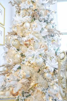 Christmas tree decorating steps add ornaments large first smallest last