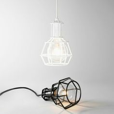 Work Lamps by Form Us With Love I The ICONIST #blackandwhite #designlamps